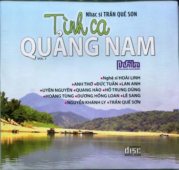 CD Nhiều Nghệ Sĩ - Tình Ca Quảng Nam