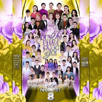 DVD Gala Nhạc Việt 8 - Duyên Phận Cuộc Đời