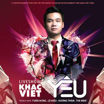 DVD Vũ Khắc Việt - Liveshow Yêu