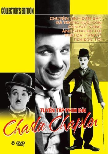 Tuyển Tập Phim Dài Charlie Chaplin (Bộ 6 DVD)